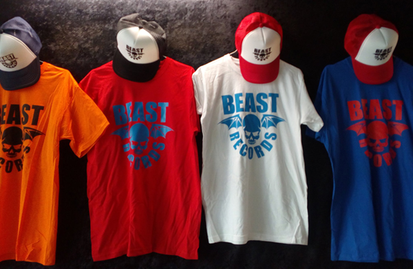 Beast Records tee-shirts