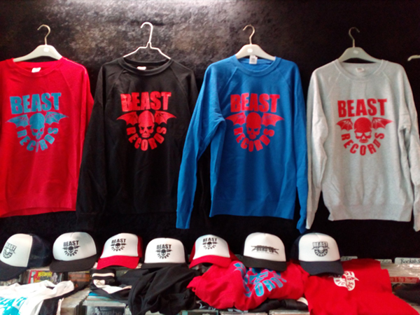 Sweatshirt Beast Records