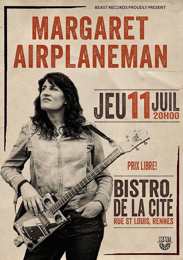 Margaret Airplaneman Bistro de la Cité