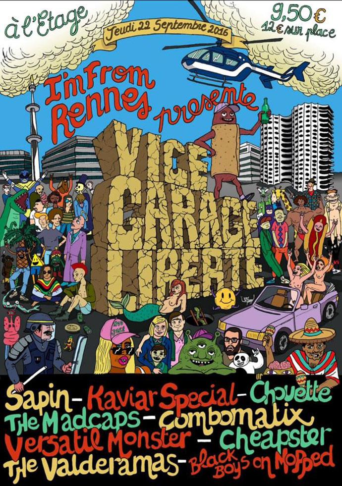 Vice, Garage, Libert�