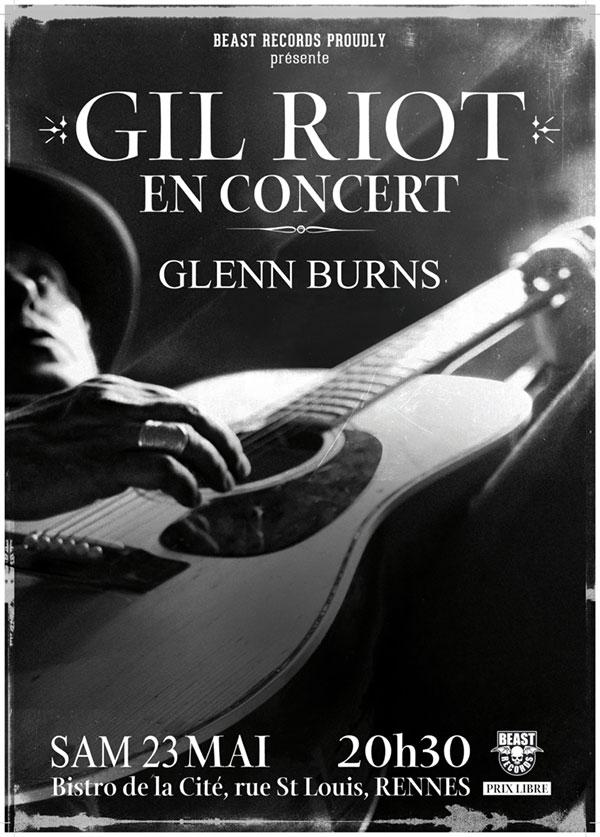 Gil Riot w/ Glenn Burns